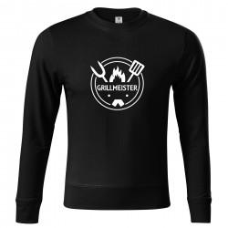 Fekete pulóver Grillmeister