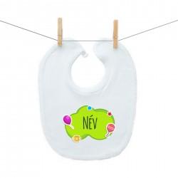 ElőkÉk Zöld buborék (a baba nevével)