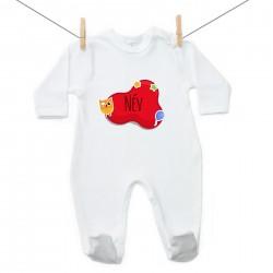 Overál Piros buborék (a baba nevével)