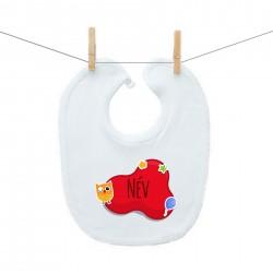 ElőkÉk Piros buborék (a baba nevével)