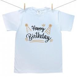 Férfi póló Happy birthday