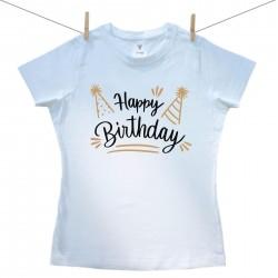 Női póló Happy birthday