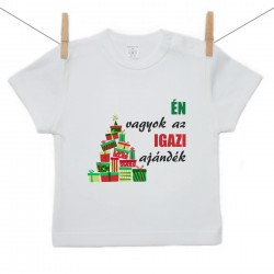 Gyerek póló (Rővid ujjú) Én vagyok az igazi ajándék