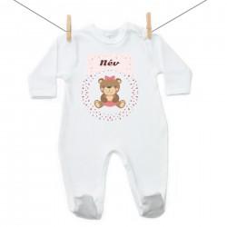 Overál Maci - Lány (a baba nevével)