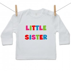 Gyerek póló (Hosszú ujjú) Little sister