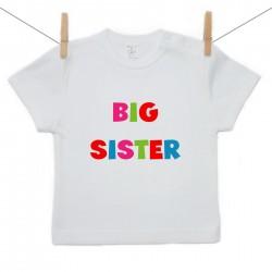 Gyerek póló (Rővid ujjú) Big sister
