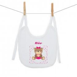 Előkék (PVI) Maci - Lány (a baba nevével)