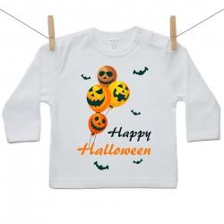Hosszú ujjú póló Happy Halloween