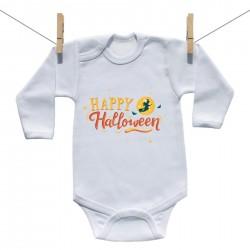 Hosszú ujjú body Happy Halloween