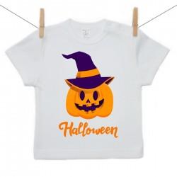 Rövid ujjú póló Halloween tök