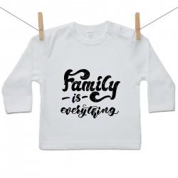 Hosszú ujjú póló Family is everything