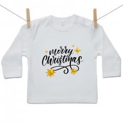Hosszú ujjú póló Merry Christmas