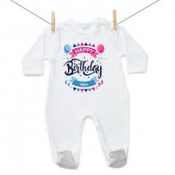 Overál Happy birthday (a baba nevével)