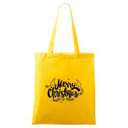 Táska - sárga Merry Christmas