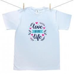 Férfi póló Love of my life