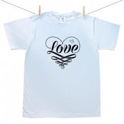 Férfi póló Love