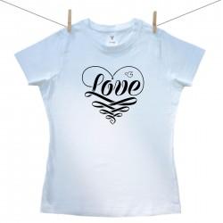 Női póló Love
