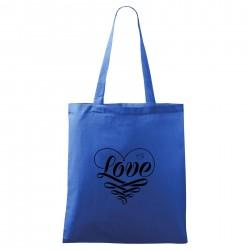 Táska - kék Love