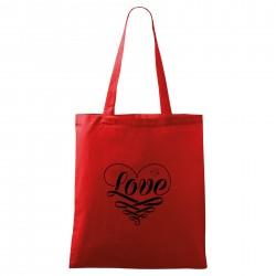 Táska - piros Love
